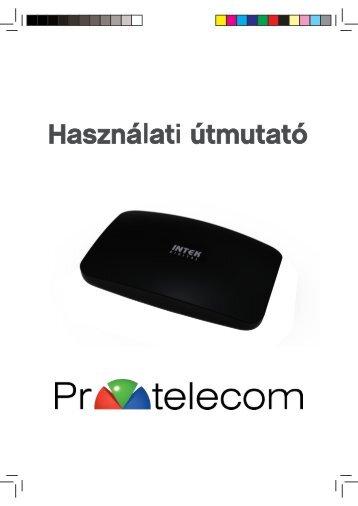Intek C63CX használati útmutató - PR-Telecom