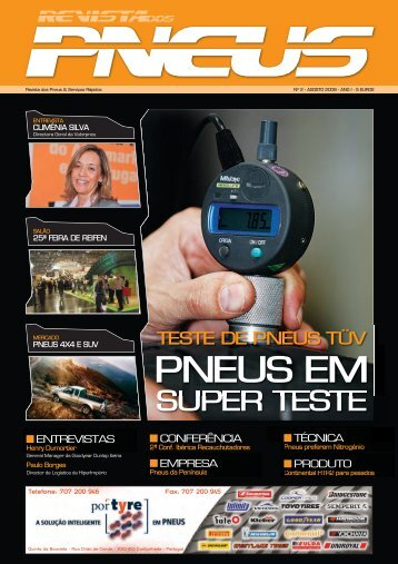 Revista dos Pneus 002 - Agosto 2008