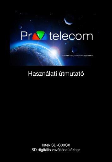 Intek SD-C30CX használati útmutató - PR-Telecom