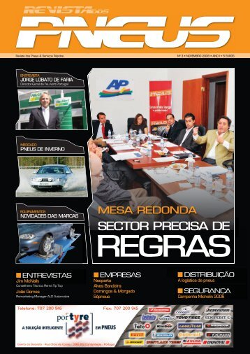 Revista dos Pneus 003 - Novembro 2008