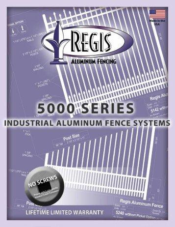 Regis 5000 Series Brochure - Digger Specialties, Inc.