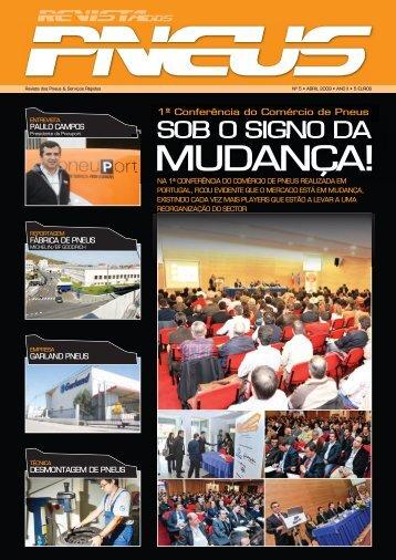 Revista dos Pneus 005 - Abril 2009