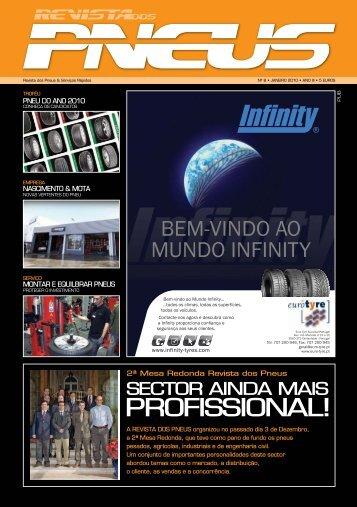 Revista dos Pneus 008 - Abril 2010