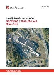 Planbeskrivning - Borås