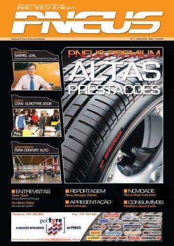 Revista dos Pneus 001 - Maio 2008