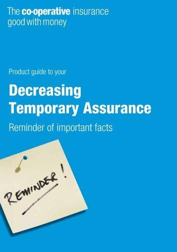 Decreasing Temporary Assurance - Royal London