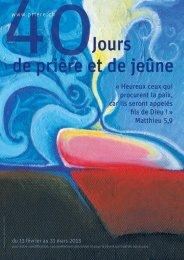 40 jours de prière 2013.pdf - Réseau évangélique suisse