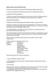 Årsmöte. oktober 2012 - Bagarmossen Brotorps skolor