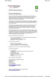 Newsletter 2009/10 - Katholische Arbeitsgemeinschaft Migration