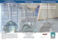 Detailinformationen des Veranstalters - Chemie.at