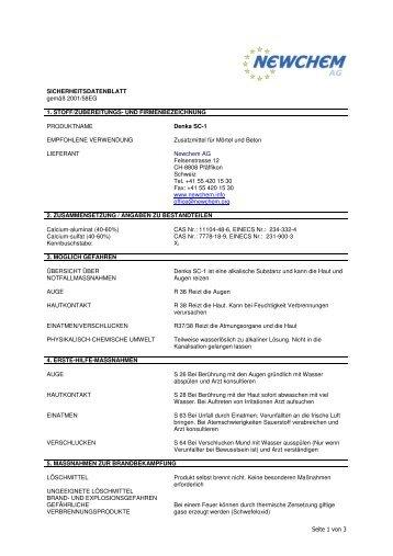 SDB Denka SC-1.pdf - chemie.at