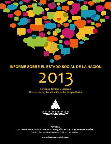 2013_10_25_AAVV_Informe_Estado_Social_Nación