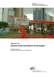 Cleaner Fuels and Vehicle Technologies - Arpel