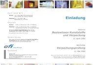 einladung verpackung_seminar_workshop.indd - Chemie.at