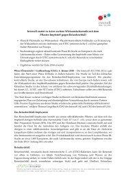 Intercell startet in Asien weitere Wirksamkeitsstudie mit ... - Chemie.at