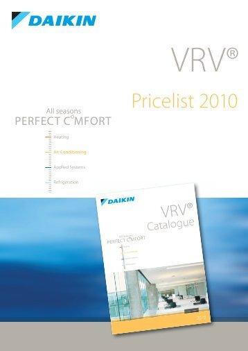 VRV III Concealed ceiling unit - Coral Instal