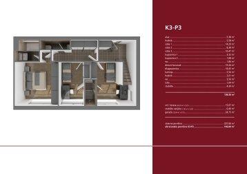 K3P3, četverosoban stan