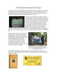 Restore Historic Tree - Historic Takoma Inc.