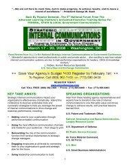 key take away key take aways - Advanced Learning Institute