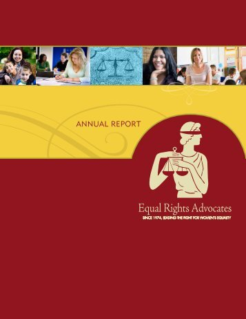 2009 Annual Report - Equal Rights Advocates