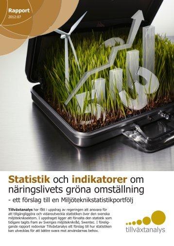 Läs rapporten Statistik och indikatorer om näringslivets gröna ...