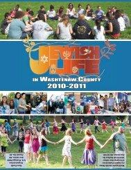 IN WASHTENAW COUNTY - Washtenaw Jewish News