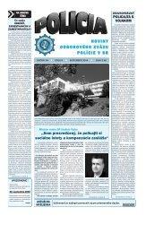 policia 09 2004.qxp - Odborový zväz polície v Slovenskej republike