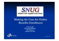 Making the Case for Online Benefits Enrollment