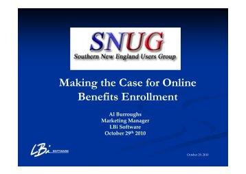 Making the Case for Online Benefits Enrollment