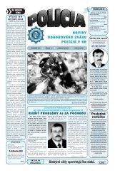 POLICIA_01_2004 c.qxd - Odborový zväz polície v Slovenskej ...