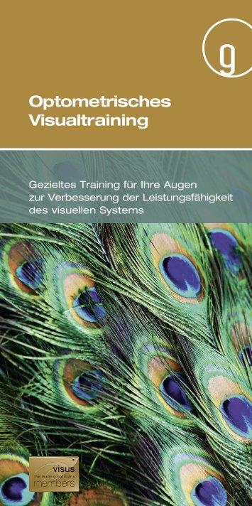 Optometrisches Visualtraining» (PDF) - Brillen-Trotter AG, Aarau