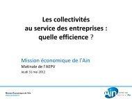 Présentation MEA - Aepv