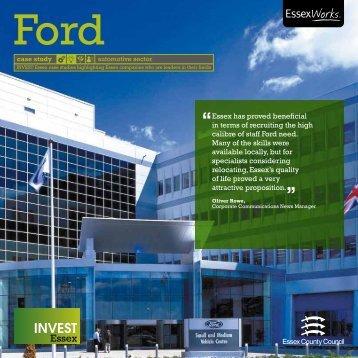 Ford Case Study - pdf - Invest Essex