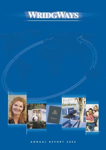 Annual Report - Wridgways