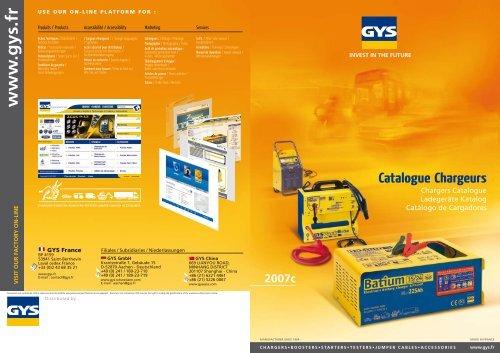 GYS automatisches Batterieladegerät WATTMATIC 180 6//12V 024861