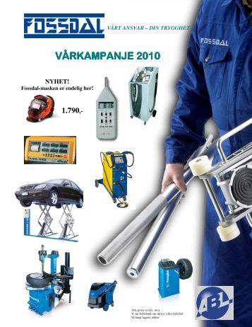 VÅRKAMPANJE KAMPANJE KAMPANJE 2010 - Fossdal Services AS