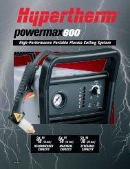 High-Performance Portable Plasma Cutting System - Fossdal ...