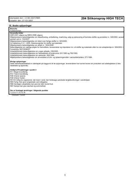 TUNAP 204 Silikone - Flex1one