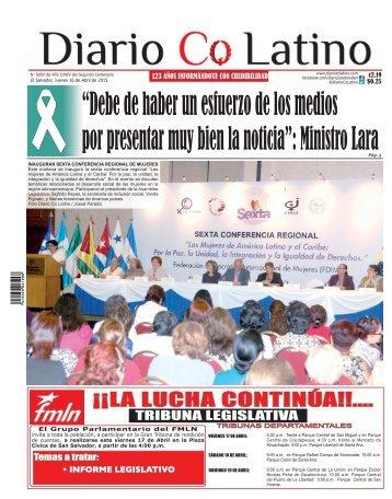 Edición 16 de Abril de 2015