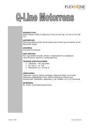 Q-Line Motorrens - Flex1one