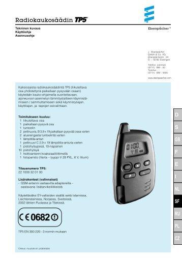 TP5 käyttöohje.pdf - Wihuri Autola