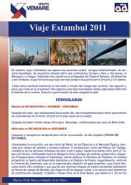 Viaje Estambul 2011 - Grupo Vemare