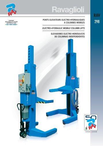 RAV 298 colonne idrauliche pdf - auto mapro equips