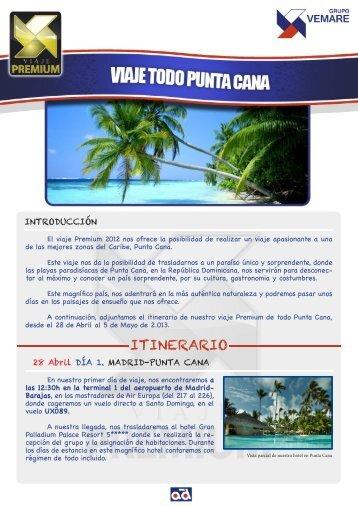 ITINERARIO - Grupo Vemare