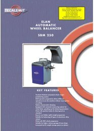 Elan Automatic Wheel Balancer SBM 250 - Saracen Distribution