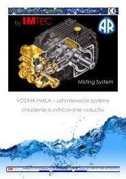 by IMTEC Misting System VODNÁ HMLA – zahmlievacie systémy ...