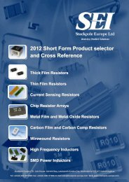 2012 Short Form Product selector and Cross Reference Thick ... - VTM