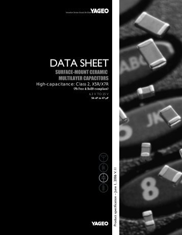 DATA SHEET - Yageo