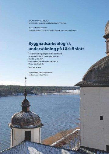 UV Öst Rapport 2009:44 - arkeologiuv.se
