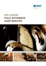 rfb junior fully AutomAtic Shop roASter - Neuhaus Neotec
